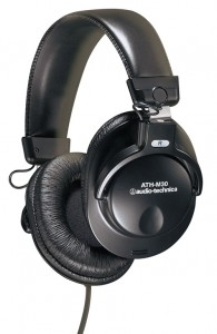 Audio-Technica ATH M30 Closed Dynamic