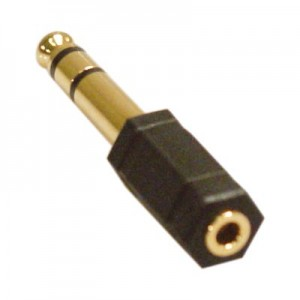 Adapter Tele 3.5mm till 6.3mm