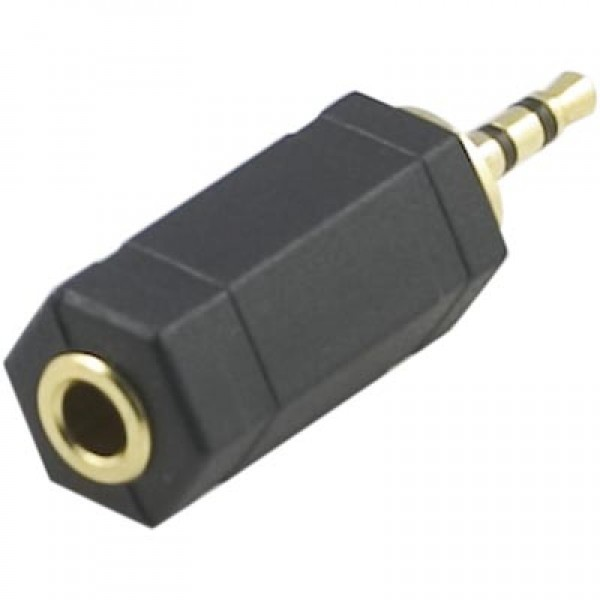 Adapter 3,5mm hon - 2,5 mm Stereo